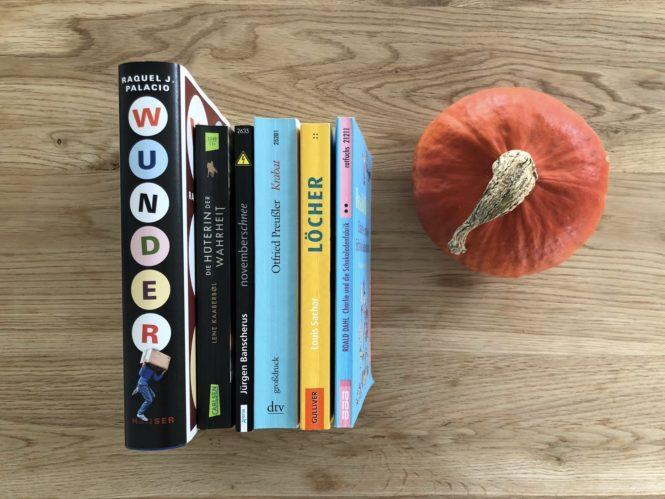 Herbstzeit ist Lesezeit…