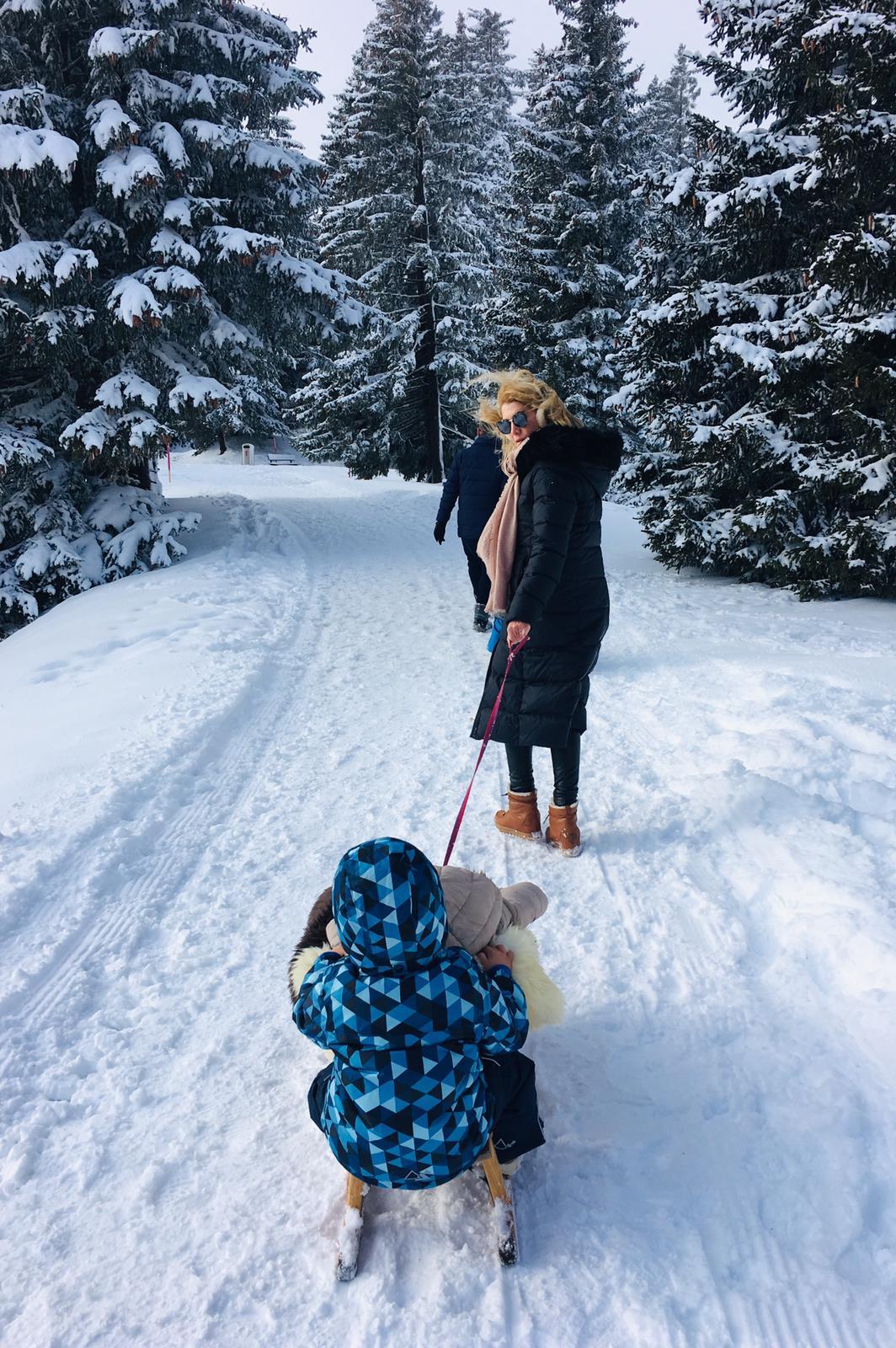 Winterurlaub mit Kleinkind…