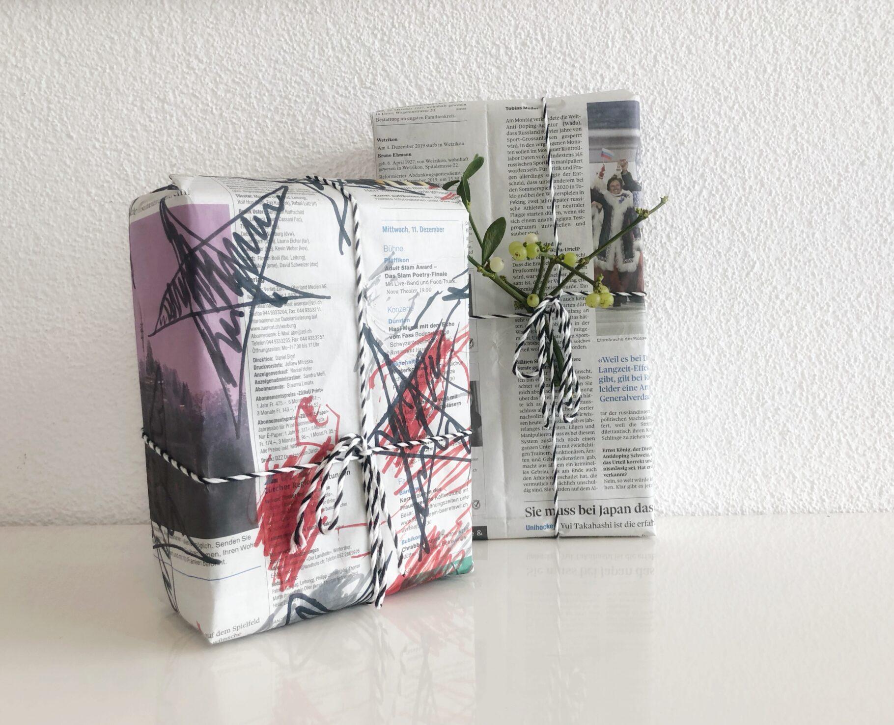 DiY: Geschenke verpacken…