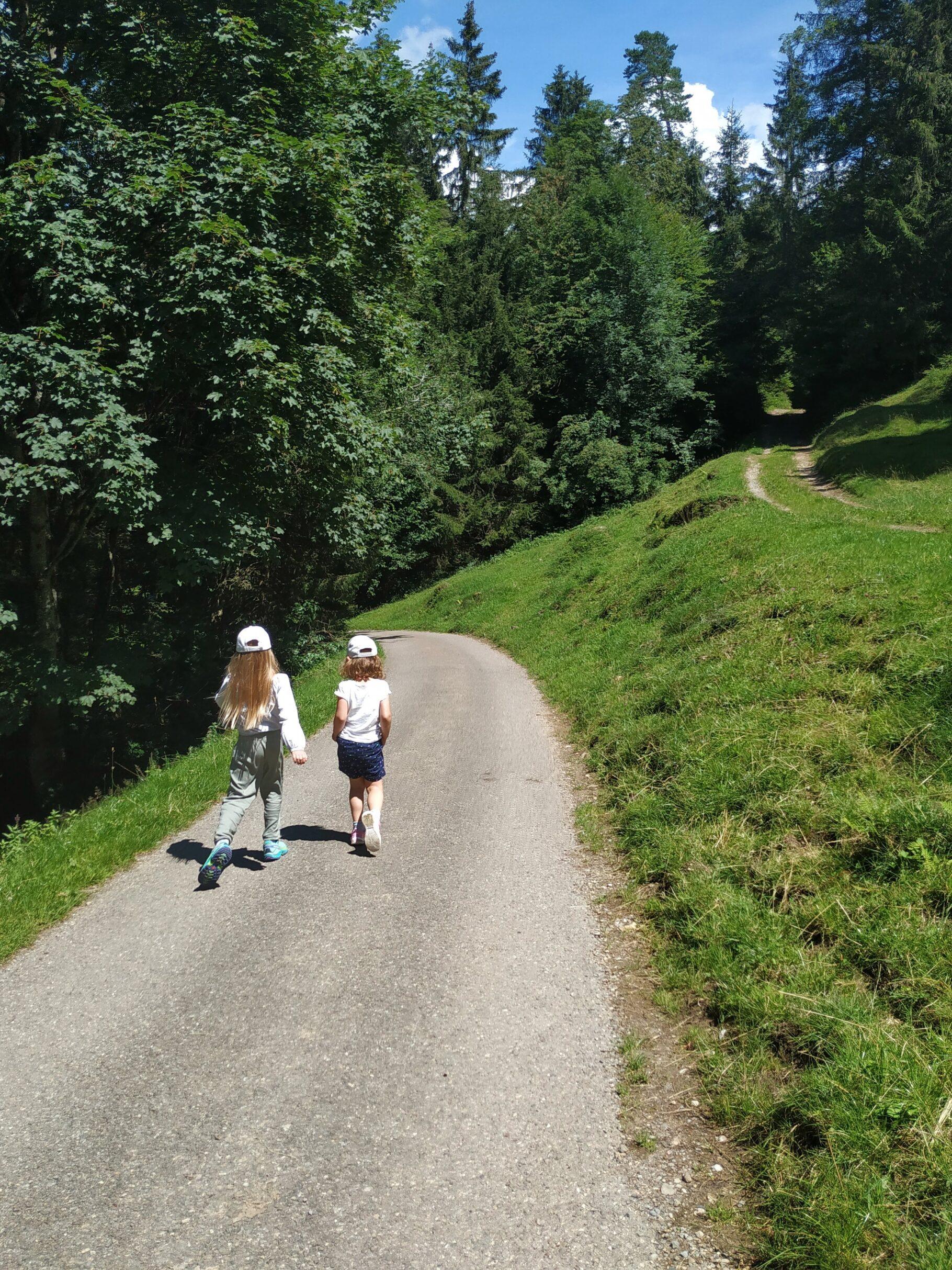 Wandern mit Kindern…